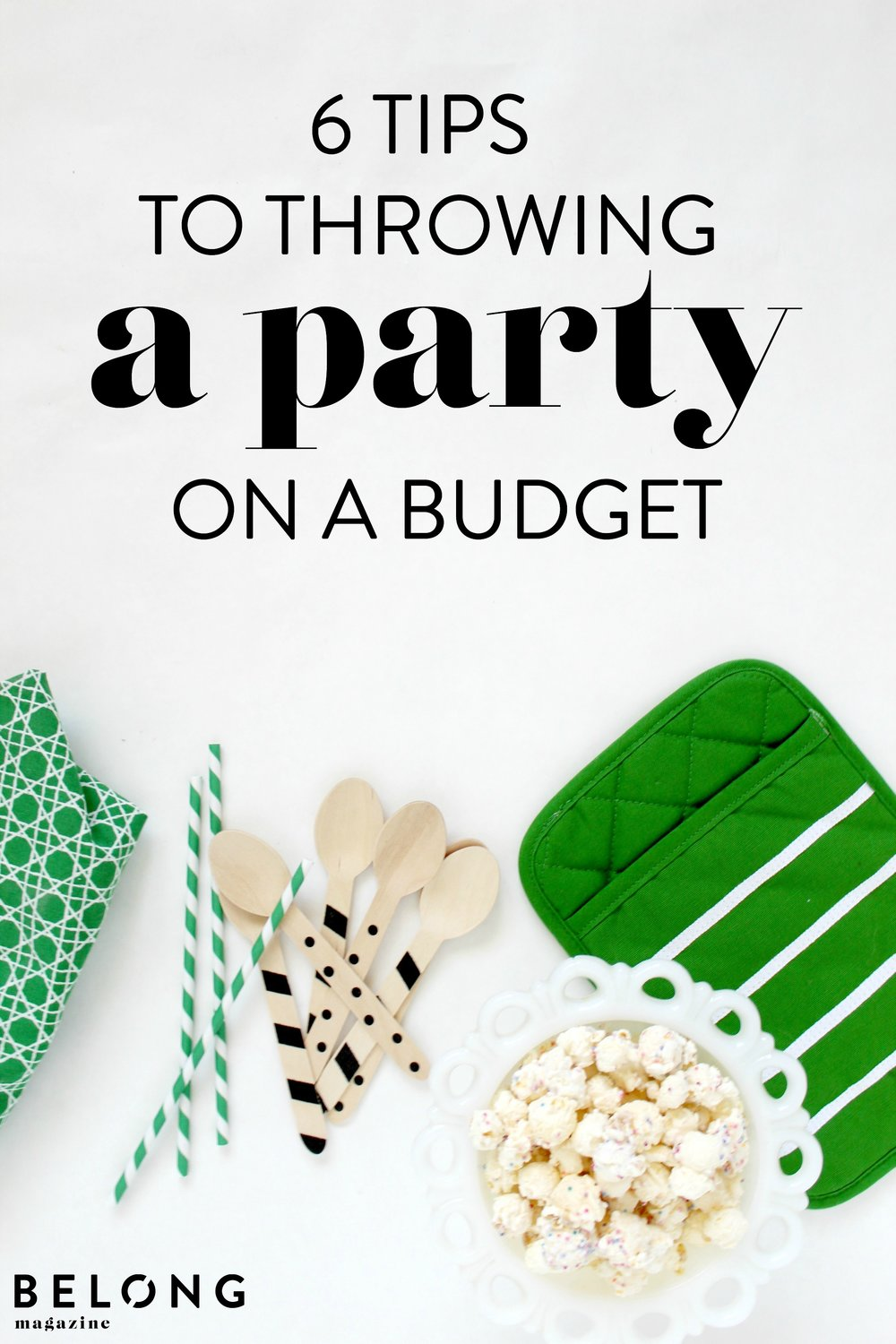 Throwing a party on a budget