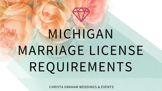 How do I get married in Michigan?