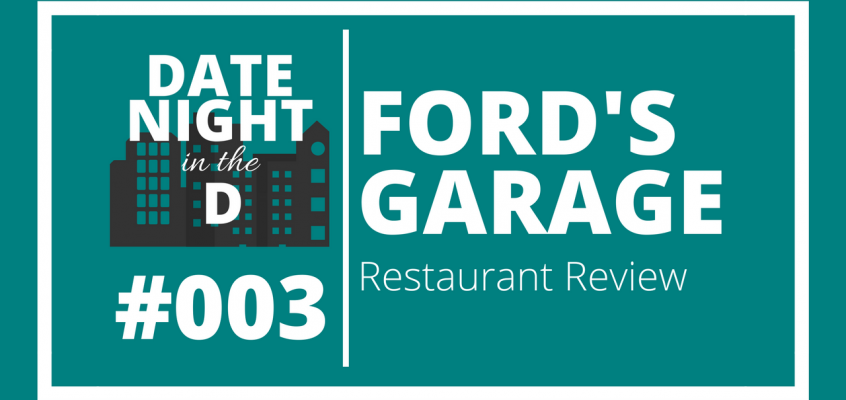 Episode 003: Ford's Garage Dearborn Restaurant Review
