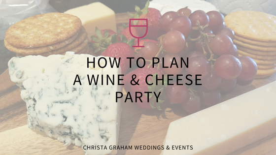 Wine & Cheese Bridal Shower
