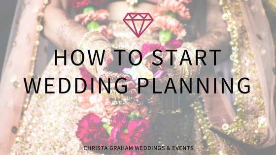 Just got engaged?! How to start wedding planning.