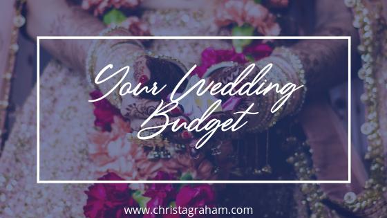 Deciding your wedding budget