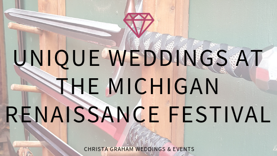 Plan your unique wedding at the Michigan Renaissance Festival