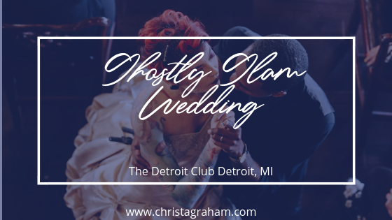 Ghostly Glam Wedding at The Detroit Club