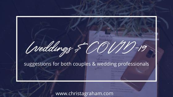 Weddings & COVID-19