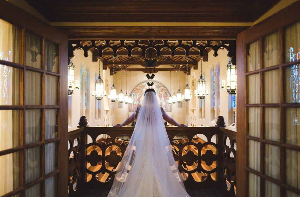 An Enchanting Wedding in The Atrium at The Inn at St. John's